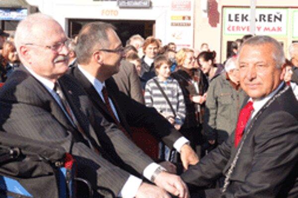Historického sprievodu sa zúčastnil aj prezident Ivan Gašparovič, v koči sa odviezol spolu s primátorom Zvolena Miroslavom Kuseinom a banskobystrickým županom Vladimírom Maňkom.