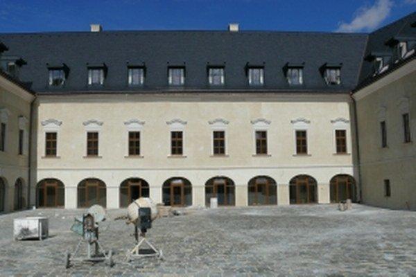 Stavebné práce na Vígľašskom zámku sú už ukončené.