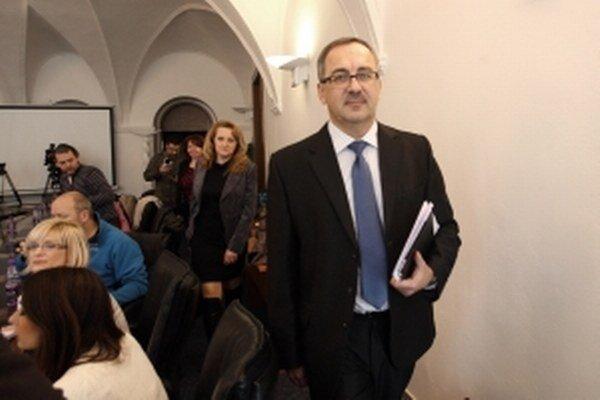 Končiaci župan Vladimír Maňka.