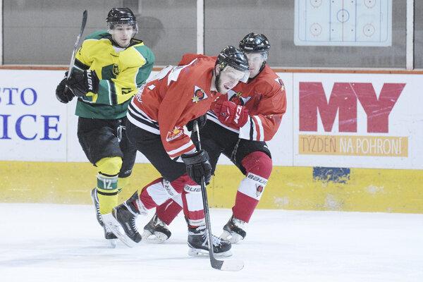 Levickí hokejisti po nevýraznej prvej tretine zabrali na plné obrátky atak si Ruža domov odniesla vysokú prehru.