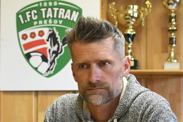 Generálny manažér Tatrana Marek Trávniček.