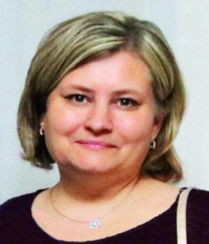 Monika Tkáčová, vedúca oddelenia grafiky a výroby.