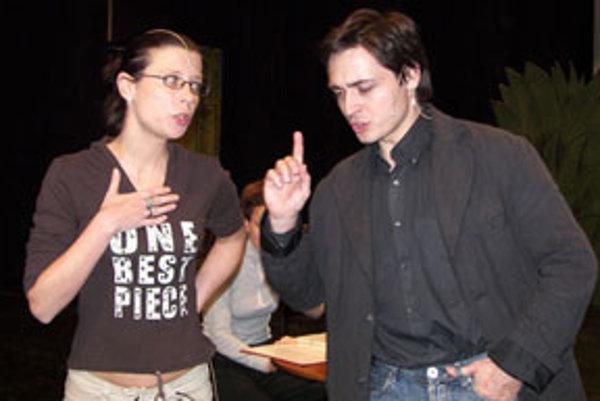 Hlavné postavy v muzikáli stvárňuje Vladena Škorvagová a Martin Kusenda.