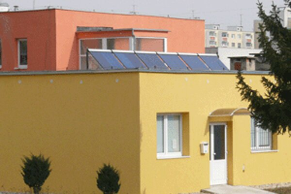Materská škola na Imatre vo Zvolene je jedinou so slnečnými kolektormi.