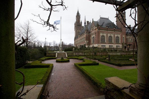 Medzinárodný súdny dvor (MSD) v Haagu.