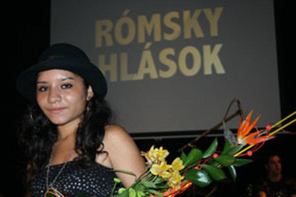 Víťazka súťaže, 17-ročná Mária Horváthová z Detvy.