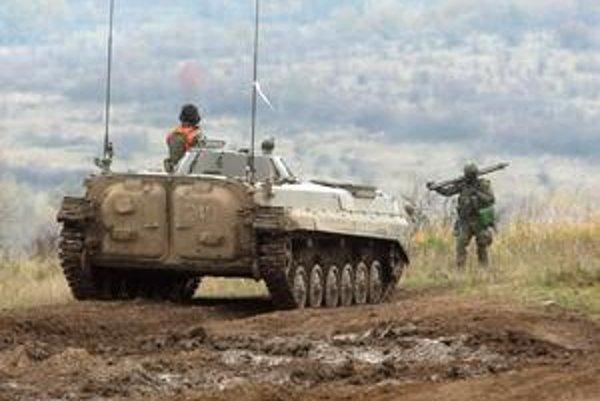 Slovenskí vojaci si chcú vyslúžiť certifikát NATO.