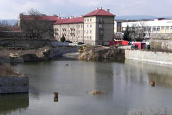 Jazierko v centre Zvolena.