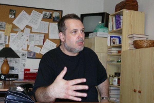 Matej Snopko je odborníkom na kanibalizmus.