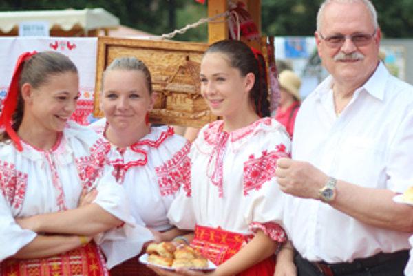 Na festival aj tento rok zavítal prezident Ivan Gašparovič.