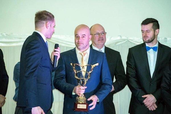 Stanislav Petrík sa stal najlepším hokejbalistom roka na Slovensku za rok 2017.