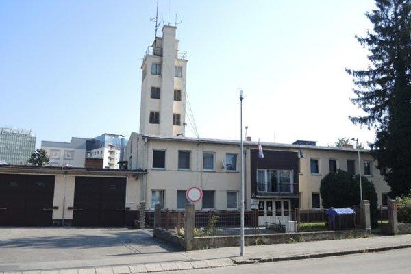 Hasičská stanica v Trenčíne.