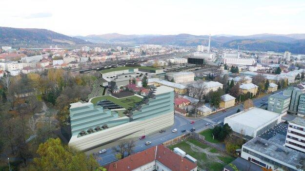 Stavba Terminálu zmení časť Trenčína.