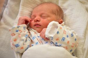 Martin Hučko (2850 g, 49 cm) sa narodila 30. januára Jane a Marekovi z Lubiny-Hrnčiarového.