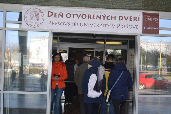 Prešovská univerzita otvorí brány 14. februára.