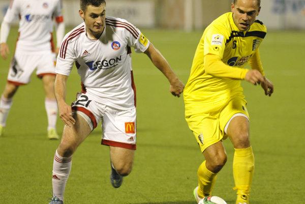 Matúš Bero bol jedným z najlepších hráčov Fortuna ligy.