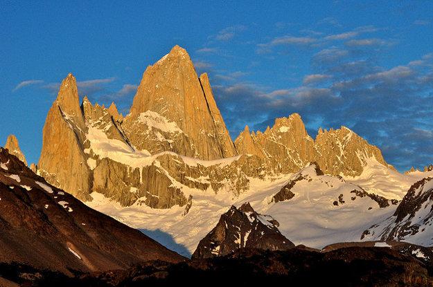 Argentína/Čile. Fitz Roy