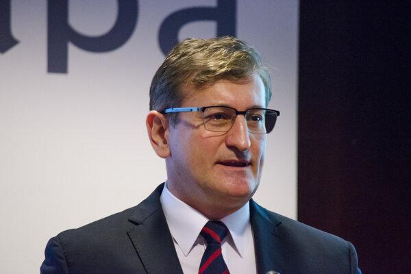 Vedúci Zastúpenia Európskej komisie v SR Dušan Chrenek.