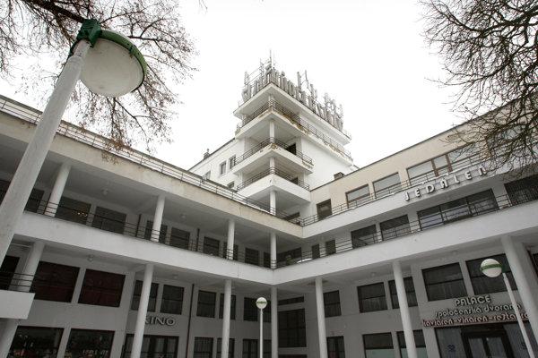 Kúpeľný hotel Palace.