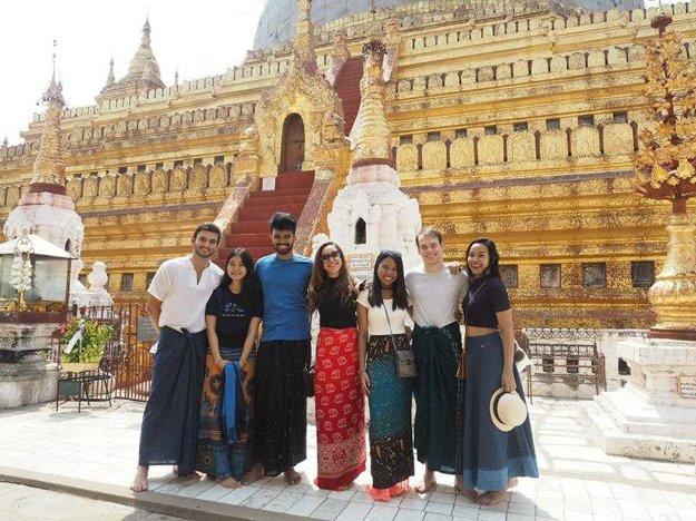 S kamarátmi v Thajsku.