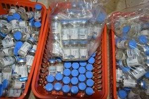 Policajti zadržali v Spišskej Novej Vsi množstvo dôkazného materiálu.