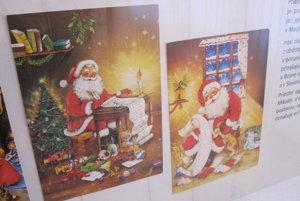Mikuláš je obľúbený motív vianočných pozdravov.