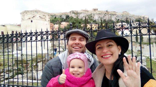 Zuzana s rodinkou