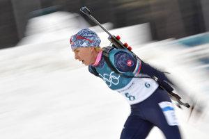 Anastasia Kuzminová opäť predvádza skvelý bežecký výkon.