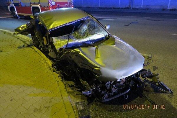 Nehoda na Kragujevskej ulici.