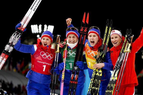 Nórske reprezentantky v behu na lyžiach.