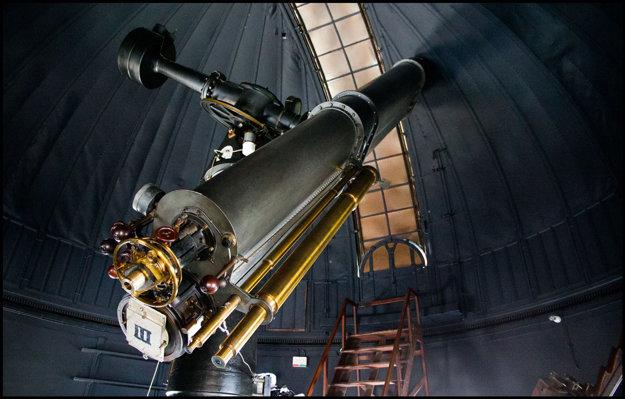 Teleskop Østervold pochádza z roku 1895.