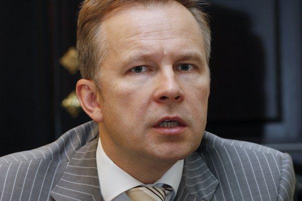 Guvernér lotyšskej centrálnej banky Ilmars Rimševičs.