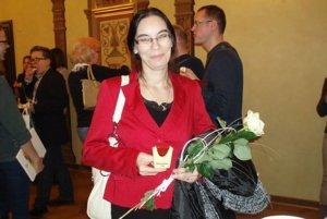 Ocenená dobrovoľníčka Danka Mokrá z Brehov.