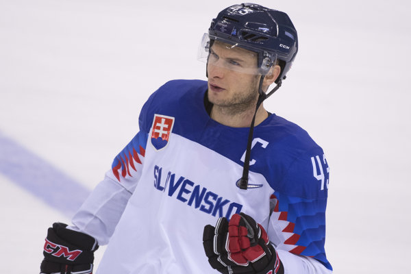 Tomáš Surový bol kapitánom slovenského tímu na olympiáde v Pjongčangu.