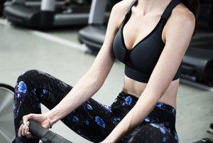 Športová podprsenka bude zaznamenávať biometrické informácie počas cvičenia.