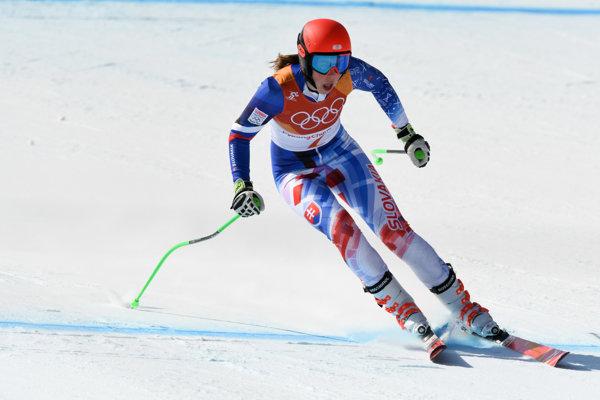 Petra Vlhová dosiahla v alpskej kombinácii historický úspech.