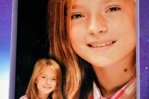 Fotografia Michaely (12), ktorá tragický zahynula pri sánkovačke.