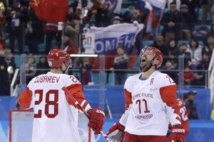 Rus Iľja Kovaľčuk sa raduje zo svojho gólu.
