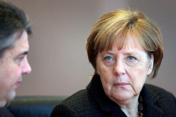 Kancelárka Angela Merkelová