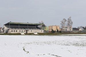 Futbalové ihrisko.