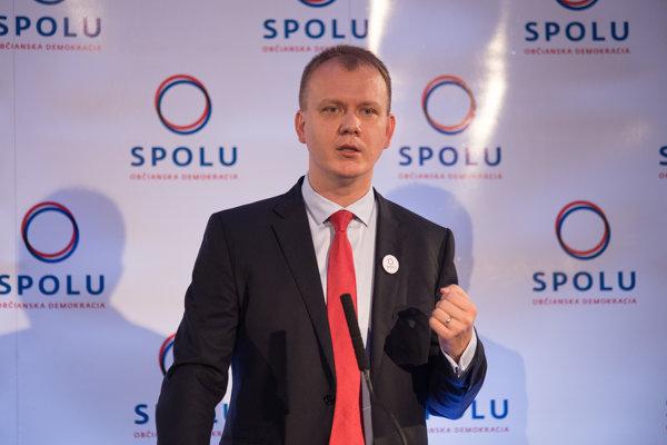 Nezaradený poslanec Miroslav Beblavý.