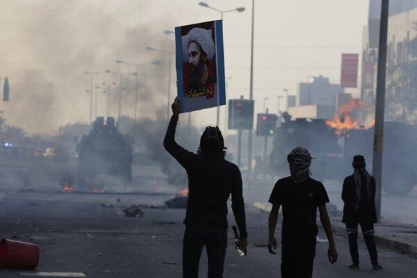 Demonštrácie v Bahrajne.
