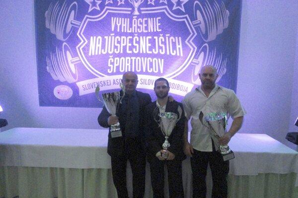 Zľava: I. Giňovský, P. Balážik, Ľ. Trstenský.
