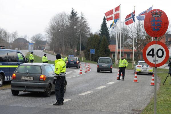 Dánsko zaviedlo dočasné kontroly na svojich hraniciach s Nemeckom.