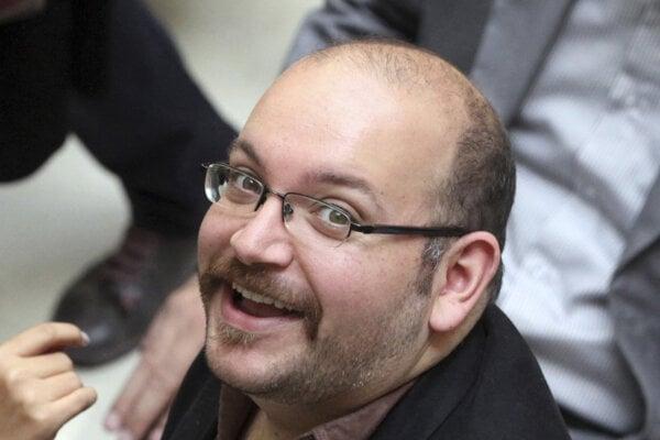 Iránsko-americký korešpondent denníka Washington Post Jason Rezaian.