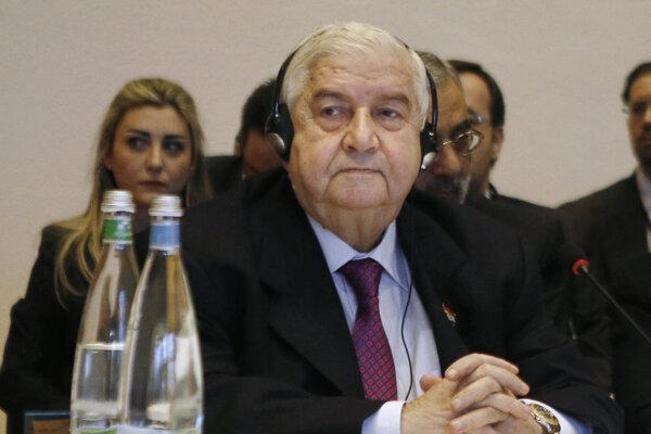 Sýrsky minister zahraničných vecí Walíd Mualim.