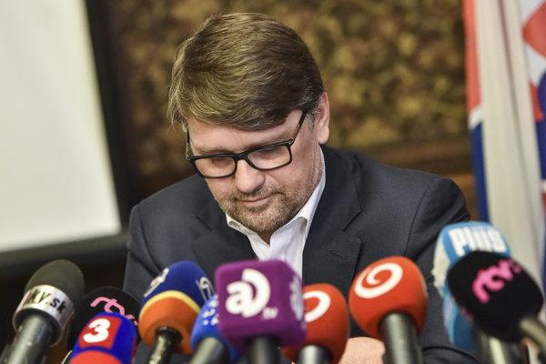 Marek Maďarič ohlásil svoju demisiu.