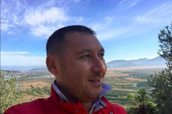 Antonino Vadala. Taliansky podnikateľ cez sociálnu sieť vyjadroval podporu viacerým politikom z východného Slovenska.