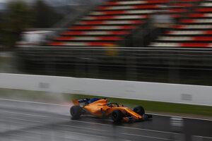 Fernando Alonso bol jediným jazdcom, pri ktorého mene sa objavil čas.