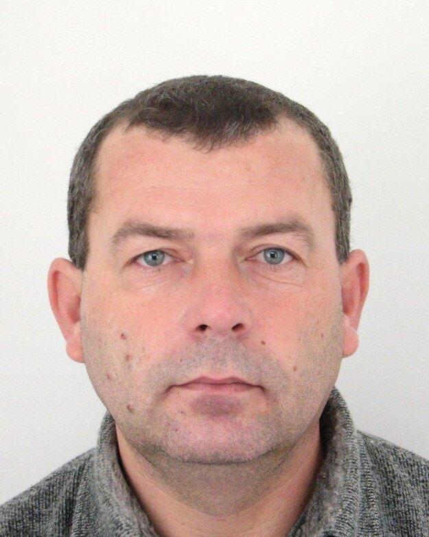 Hľadaný Vladimír Kravarík.